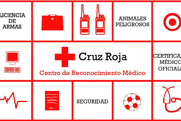 Cruz Roja, Centro de Reconocimeinto Médico