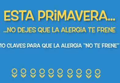 La nueva campaña de la enfermería para mejorar la calidad de vida de los alérgicos al polen