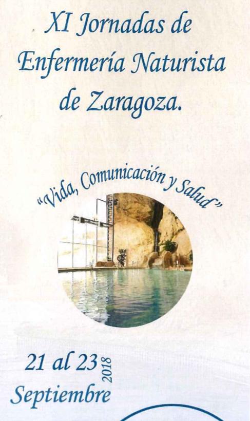 XI Jornadas de Enfermería Naturista de Zaragoza