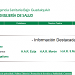 Enfermería, Bolsa de Empleo Temporal, Agencia Pública Empresarial Sanitaria Bajo Guadalquivir