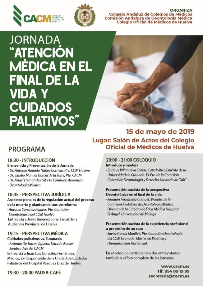 Programa Jornada Cuidados Paliativos 2019