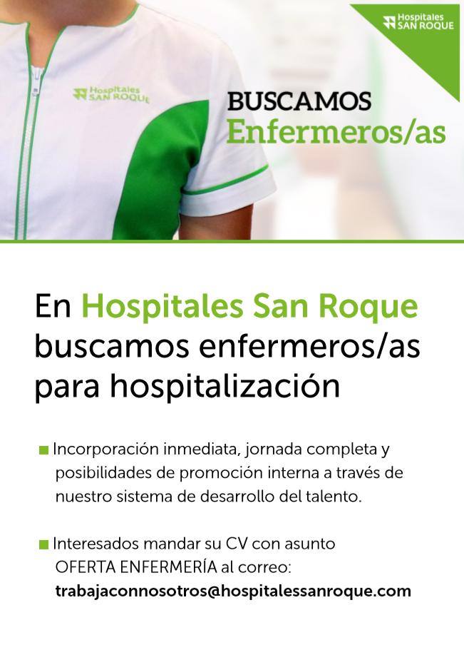 Oferta Empleo Hospitales San Roque