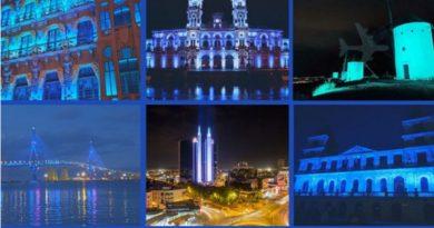 España se viste de azul por las enfermeras