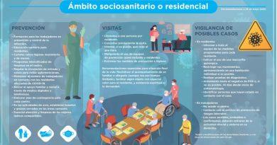Las enfermeras dan pautas para proteger a los mayores en centros sociosanitarios …