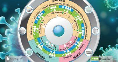 El CGE, SEPAR e INTA distribuyen una infografía para identificar la mascarilla adecuada ante el COVID-19